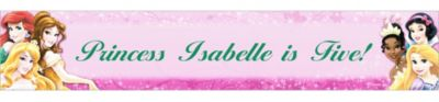 Custom Disney Princess Sparkle Banner 6ft