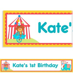 Custom Fisher Price 1st Birthday Banner 6ft