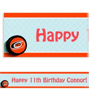 Custom Carolina Hurricanes Banner 6ft