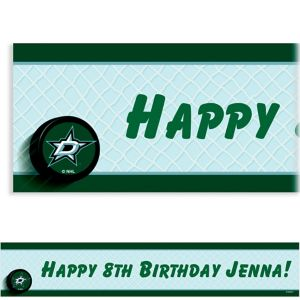 Custom Dallas Stars Banner 6ft
