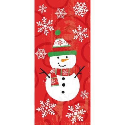 Snowman Treat Bags 20ct