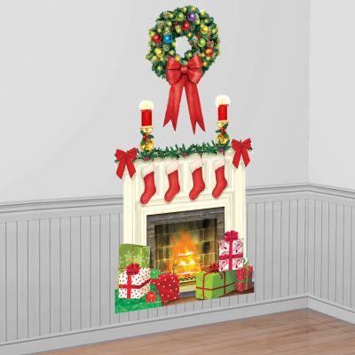 Holiday Hearth Scene Setter