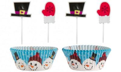 Snowman Cupcake Decorating Kit