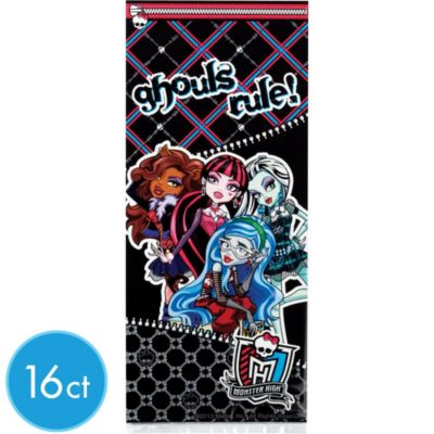 Monster High Treat Bags 16ct