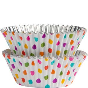 Wilton Rainbow Dots Baking Cups 36ct