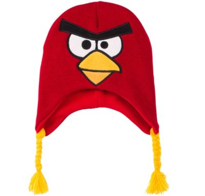 Child Red Angry Birds Peruvian Hat