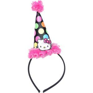 Neon Hello Kitty Mini Hat Deluxe