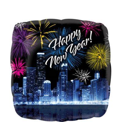 Happy New Year Balloon - Skyline Fireworks