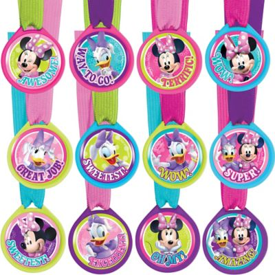 Minnie Mouse Award Medals 12ct