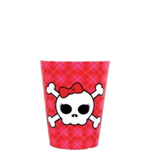 Skull and Bow Shot Glass