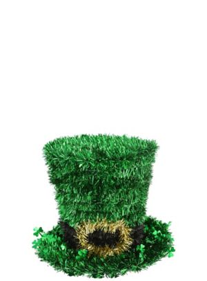 Tinsel Leprechaun Hat Centerpiece
