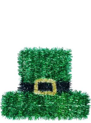 Tinsel Leprechaun Hat