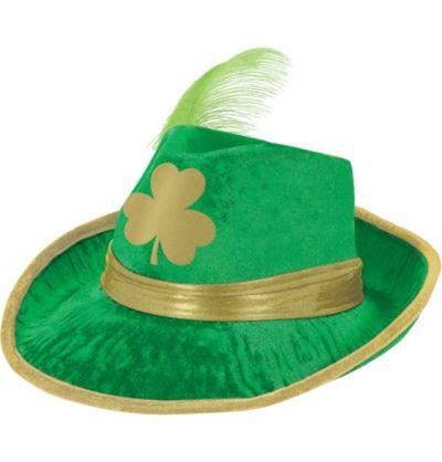 St. Patrick's Day Shamrock Fedora