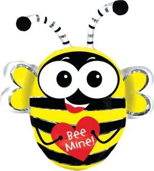 Valentine's Day Balloon - Bee Mine