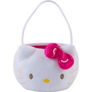 Plush Hello Kitty Easter Basket
