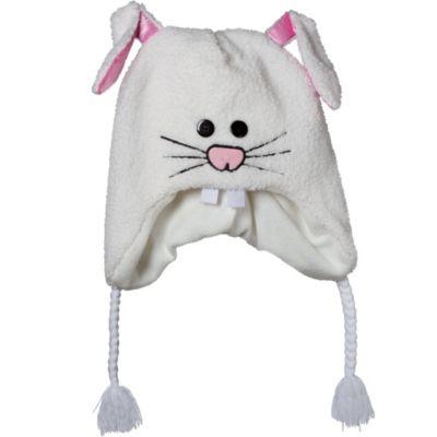 White Bunny Peruvian Hat