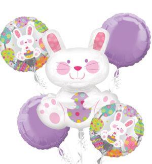 Foil Easter Enchantment Balloon Bouquet 5pc