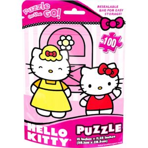 Hello Kitty Puzzle Bag 100pc