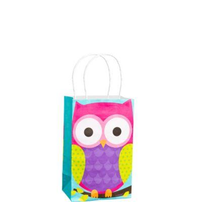 Owl Banded Gift Bag