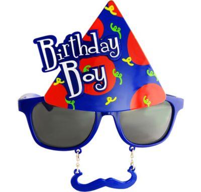 Birthday Boy Sun-Stache
