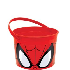 Spider-Man Favor Container 4in