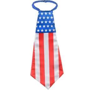 Giant Patriotic American Flag Tie