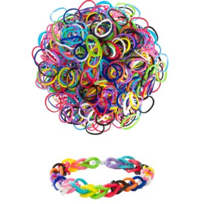 Assorted Rubber Loom Bands 300ct