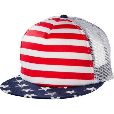 Stars and Stripes Trucker Hat