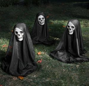 Grim Reaper Yard Stakes 3ct