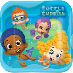 Bubble Guppies Lunch Plates 8ct