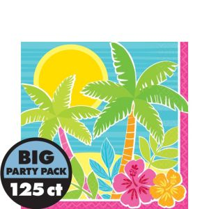Summer Scene Lunch Napkins 125ct