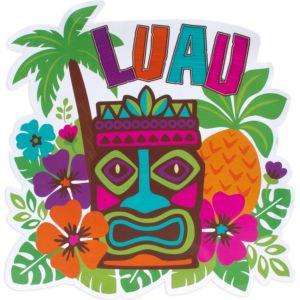 Tiki Luau Cutout