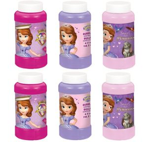 Sofia the First Bubbles 6ct