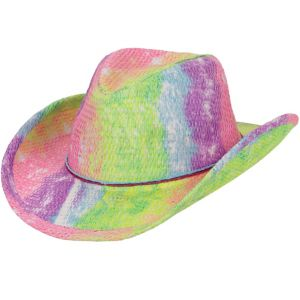 Rainbow Cowboy Hat 14in Party City
