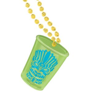 Tiki Shot Glass Necklaces 2ct