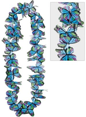 Cool Butterfly Lei