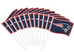 New England Patriots Flags 12ct