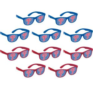 Philadelphia Phillies Printed Glasses 10ct