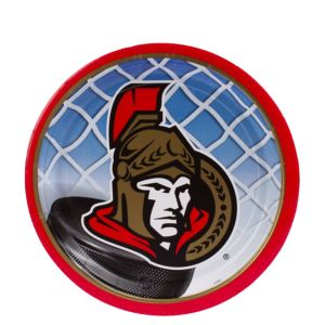 Ottawa Senators Dessert Plates 8ct