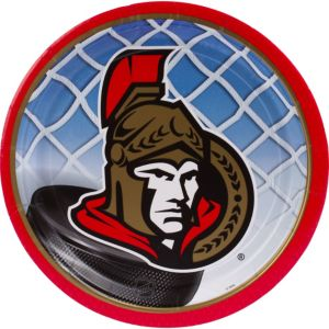 Ottawa Senators Lunch Plates 8ct