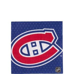 Montreal Canadiens Beverage Napkins 16ct