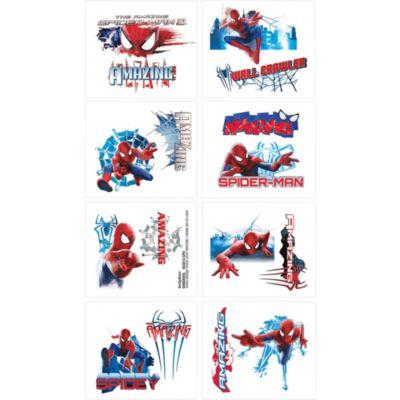 Amazing Spider-Man Tattoos 1 Sheet