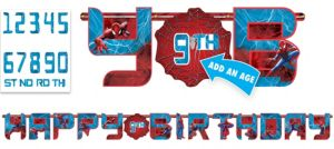Amazing Spider-Man Birthday Banner 10ft
