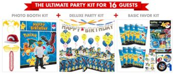 Pokemon Ultimate Party Kit for 16 Guests