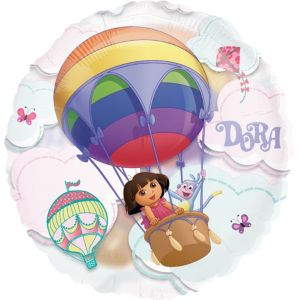 Dora the Explorer Balloon - See Thru