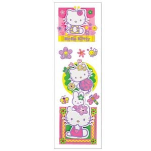 3D Hello Kitty Stickers 1 Sheet