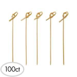 Bamboo Knot Party Picks 100ct