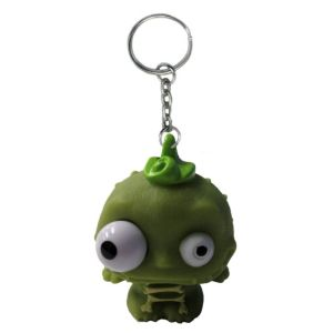 Eye Pop Squeeze Voodoo Skeleton Keychain