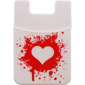 Heart Self-Adhesive Silicone Pocket