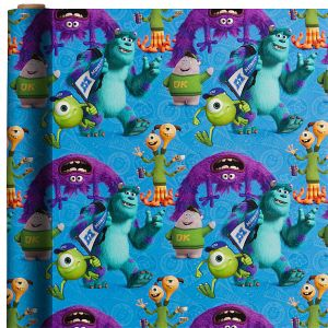 Monsters University Gift Wrap
